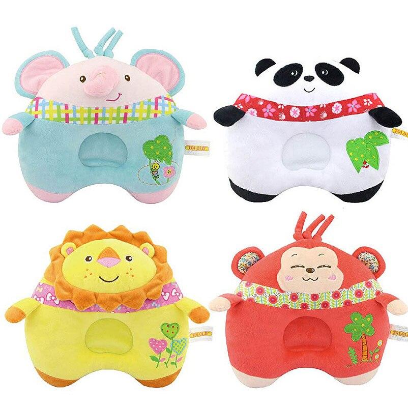 Qualifiziert 1 Stück Baby Weiches Kissen Infant Kleinkind Nettes Cartoon Tier Schlaf Stellungs Prevent Kopf Kissen Kissen Handy Straps KöStlich Im Geschmack