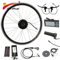 36V Motor Electric Bike Kit Electric Bicycle Conversion Kits Without Battery Waterproof LED Display Throttle Refit(CK NB01)