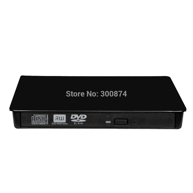 USB3.0 dvd rw Externo 9.5mm/12.7mm Motorista Gravador de DVD Para PC portátil DVD apoio ler e escrever ECD819