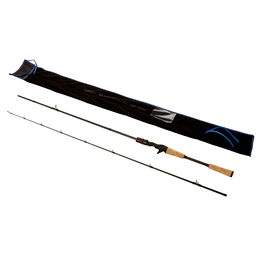 Noeby 2Secs M / MH 2.29m Baitcasting Fishing Rod Fast 9+1 SIC Guide Ring 95% Carbon Bass Lure Rods Pesca Stick Fishing Tackle trulinoya 2 13m power ml baitcasting fishing rod 2secs 6 14g carbon bass lure rods fuji accessories action mf pesca stick tackle