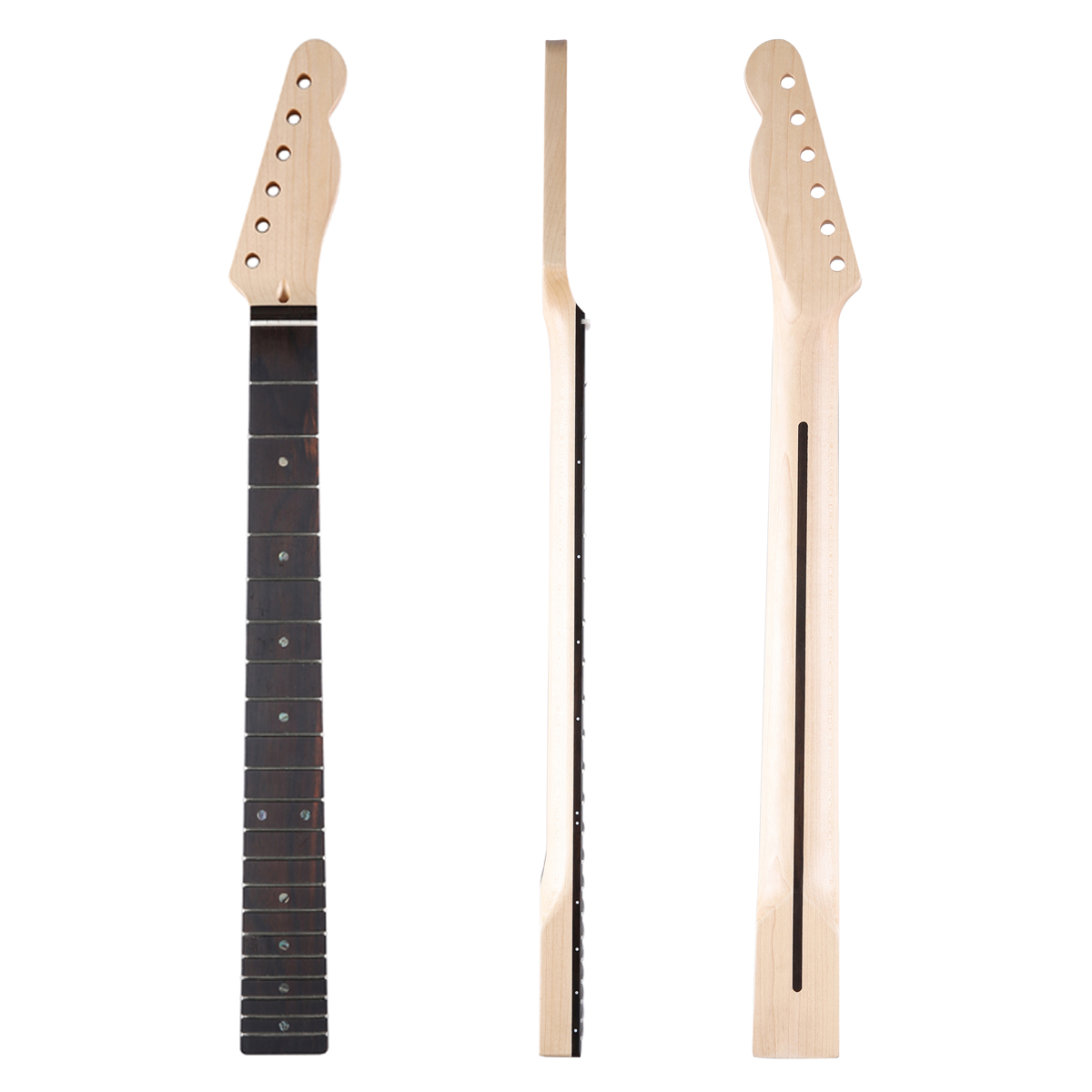 Musical Instruments Vintage 21 Frets Maple Neck Maple Fingerboard For Tele Style And Tuners Electric Instrument
