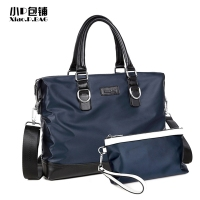 Xiao P Brand Men Bag Fashion Waterproof Nylon Casual Designer Handbags Laptop Briefcase New Male Messenger
