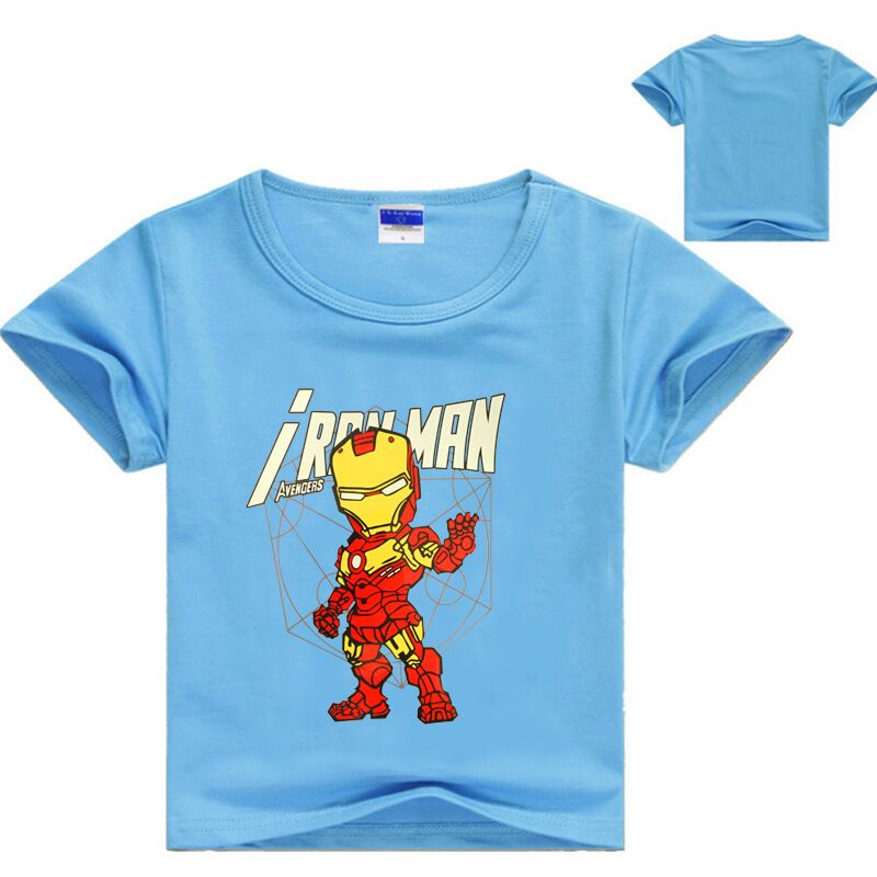 2-12 Years Hulk T Shirt Babyclothing Kids Clothes Cartoon Top Boy Summer Shirt Kids Girls Casual Boys Clothes Short Sleeve