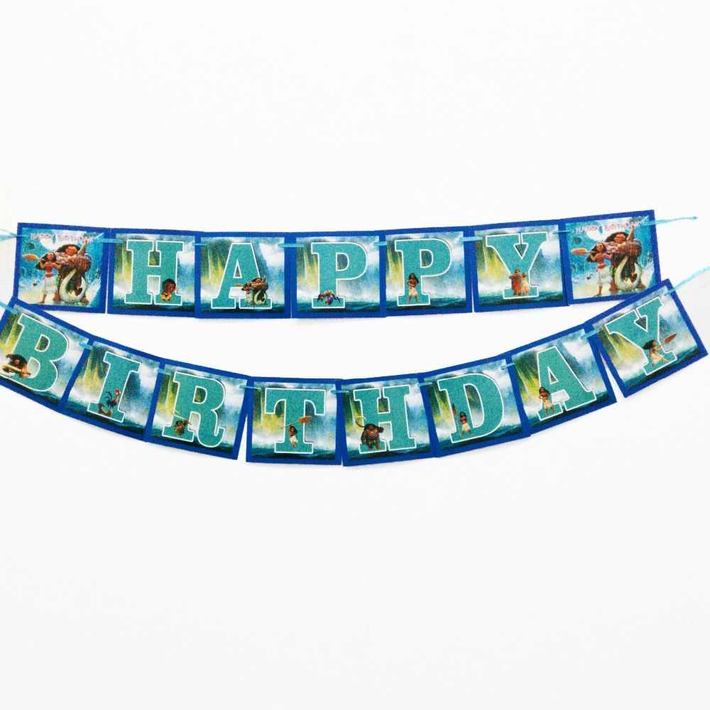Moana Placas Guardanapos Copos Descartáveis Toalha de Mesa Fontes do Partido de Aniversário Decorações Do Chuveiro Do Bebê Dos Miúdos Favores Bolo Pratos Tablewar