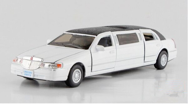 Free Shipping 1 38 1999 Lincoln Town Car Stretch Limousine Alloy