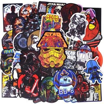 50 pz/pacco Nuovo Super Cool Star Wars Adesivi per i Bagagli Della Decalcomania Del Computer Portatile di Skateboard Moto Auto Bicicletta Chitarra Frigo Sticker 1