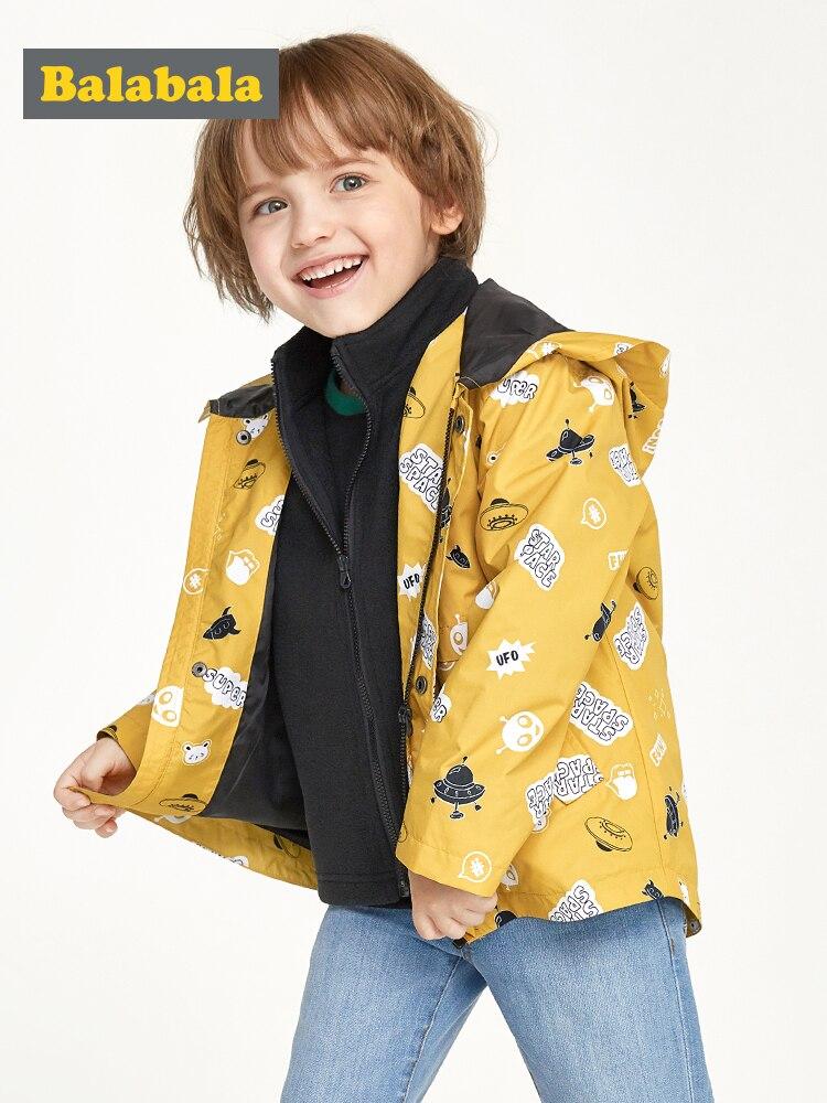 Children/'s Autumn New Long-sleeve Lapel Stylish Boys Trench Coat Cotton Comfort