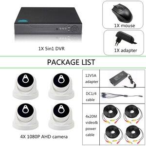 Image 1 - Комплект видеонаблюдения YiiSPO, 4 канала, 1080P, AHD, HD, HDMI, VGA