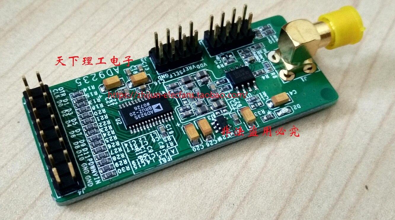 Convertisseur analogique-numérique ADC parallèle haute vitesse 12 bits AD9235 Module d'échantillonnage AD carte d'acquisition de données 20 Msps