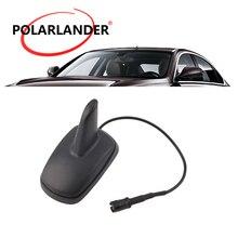 Акулий плавник автомобильный стиль радио черная навигационная антенна спортивный стиль AM/FM потолок на крыше автомобиля радио авто антенна для Audi/VW/Seat/Skoda