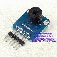 GY MCU90614 BCC Serial IR Non Contact Infrared Temperature Measurement Module MLX90614 BCC