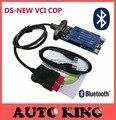Ds-TCS новый vci cdp с bluetooth 2015.1 cd obd2 сканирования диагностический инструмент tcs CDP Pro для автомобилей и грузовиков 100 ШТ. Свободный корабль в наличии