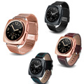 Оригинальный A11 1.22 ''full круглый экран Сердечного ритма Smart Watch MTK2502 BT4.0 Smartwatch для ios Android Умный Часы PK X01
