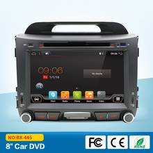 2DIN Android Quad core 8 inch Car DVD for KIA Sportage 2011 2012 2013 2014 2015 Radio DVD navigation 2din DVD Sportager GPS Radi