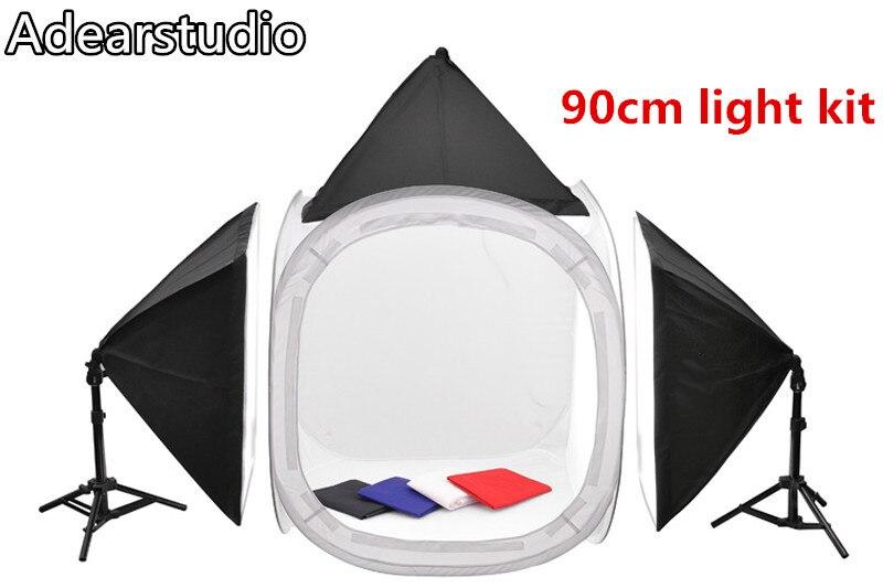 Adearstudio Professional 90cm photo box studio box photography light softbox lightbox CD50