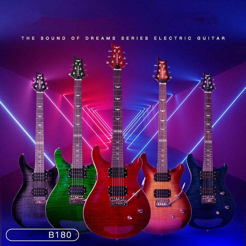 Bullfighter Standard guitare électrique pont micros bouton fermé touche palissandre panneau arrière acajou