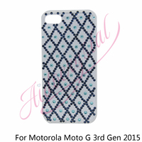 Custom Crystal 2015 Gen 3 Matte TPU Soft Case Cover For Motorola Moto G3 Gen 3