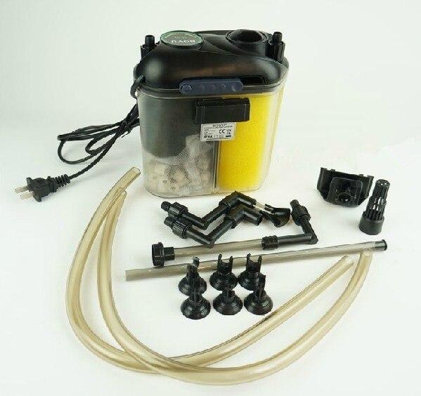 BOYU-lampe UV EFU-05, cartouche externe pour Aquarium, système de filtration pour eau douce, 5W, 11W, 150l/H