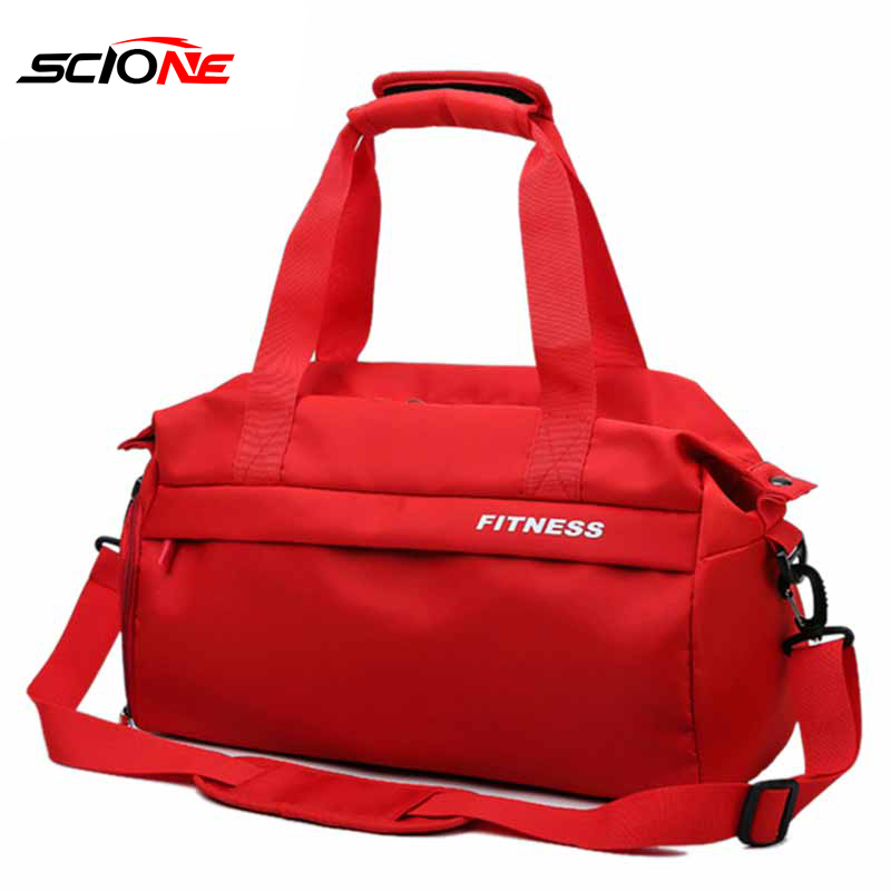 Waterproof Dry Wet Separation Gym Bag Women Fitness Yoga Mat Men Training Hand Bag Swimming Crossbody Outdoor Sport Bags XA47G