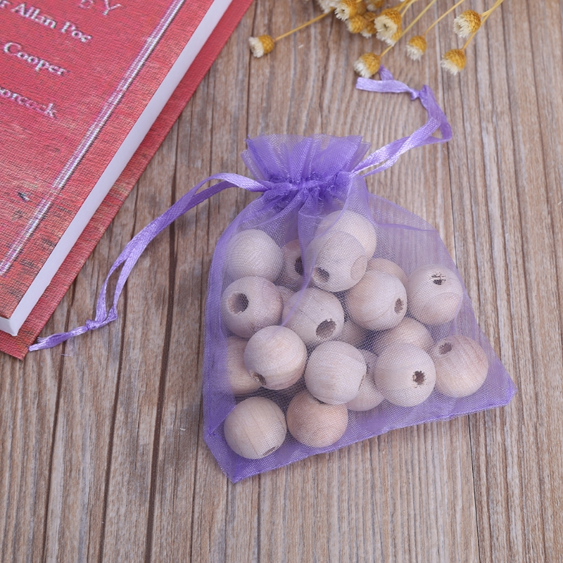 2019 New Camphor Balls 20Pcs Durable Smell Cedar Round Balls Clothes Drawer Book Moth Insect Repellent Camphor Balls
