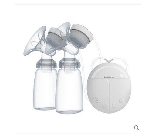 USB masaje sacaleches eléctrico sacaleches automático bebé bomba bomba de leche de succión del pezón biberón alimentación uso con adaptador de envío