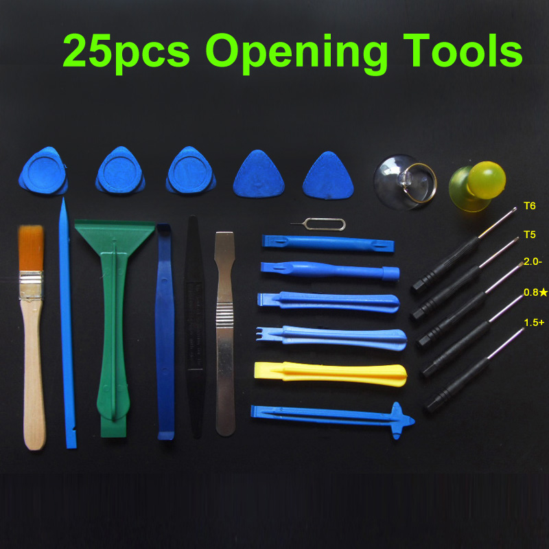 25 in 1 Opening Tools Repair Tools Phone Disassemble Tools set Kit For iPhone iPad HTC Cell Phone Tablet PC чехол флип кейс samsung для samsung galaxy a6 2018 wallet cover золотистый ef wa605cfegru