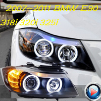 HID,2007~2011 Car Styling for BNW E90 Headlight,canbus ballast,i318 i320 i325;E90 Fog lamp,E90 head lamp