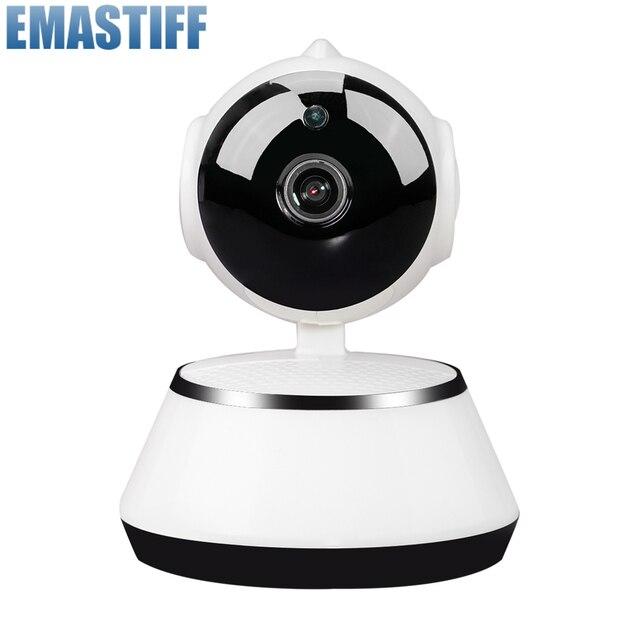 HD 720P MINI bezpieczeństwo w domu kamery IP dwukierunkowy dźwięk bezprzewodowa Mini kamera 1MP Night Vision CCTV kamera WiFi niania elektroniczna Baby Monitor iCsee