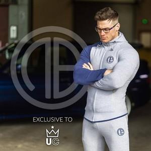 Image 5 - Man Running Sets Men Sport Suits Hoodies Pants Sets Sweatshirt Sweatpants Sportswear Gym Fitness Tracksuit Male Casual Joggers