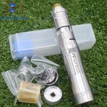 YFTK Style stratum zero mod with Vapor Giant v6 S 23mm RTA 316 stainless steel 18650 20700 21700 battery mech mod kit vape tank стоимость