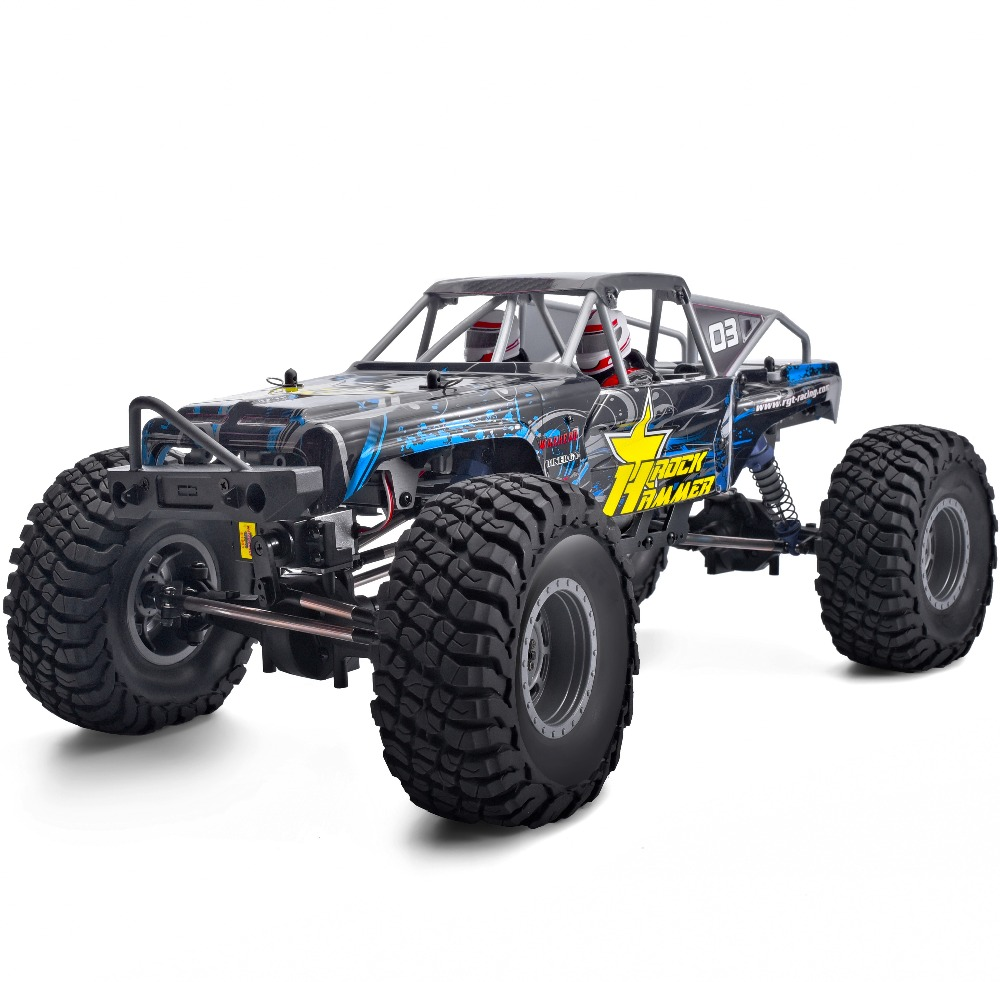 RGT RC Crawler 1:10 4wd Off Road Rock Crawler Rc Car 4x4 Electric Power Waterproof Hobby Rock Hammer RR-4 Truck Toys for Kids image