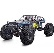 Rgt RC Xe Bánh Xích 1:10 4WD Tắt Đường Đá RC Xe Hơi 4X4 Điện Chống Nước Sở Thích Đá Búa RR 4 Xe Đồ Chơi Cho Trẻ Em