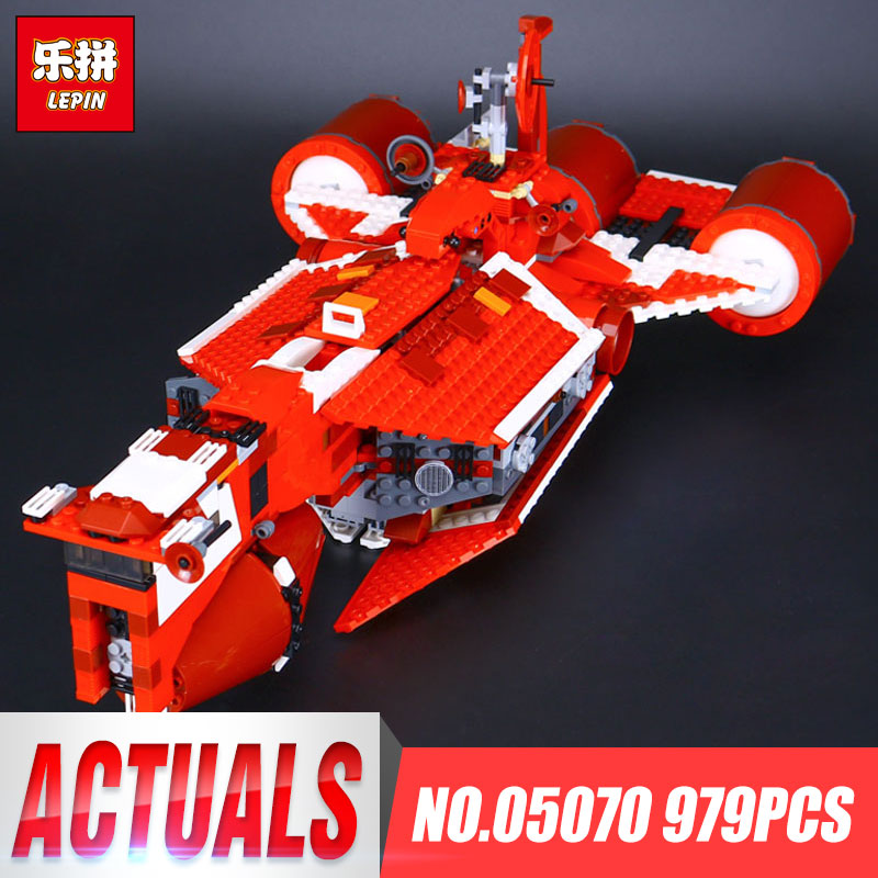 Lepin 05070 Star Series War The Republic funny Gifts Cruiser Set Toys For Children Educational Building Blocks Bricks Model 7665