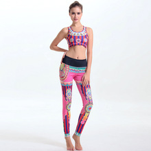 New Women's Yoga Clothes Sets Quality Lady Gym Bodybuilding Clothes For Female Fitness Vest Suits Running Bra