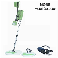 TIANXUN MD-88 Metal Detector professional underground gold detector MD88 treasure hunter with two coils