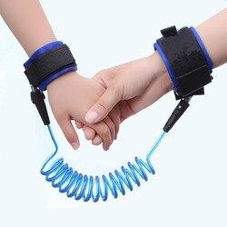 Most Popular Toddler Kids Baby Safety Walking Harness Anti-lost Strap Wrist Leash Children Hand Belt Rope Length 1.5m/2m