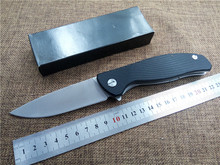 Newest folding knife D2 blade outdoor tactical knife G10 handle EDC Flipper pocket knife high quality hand tool