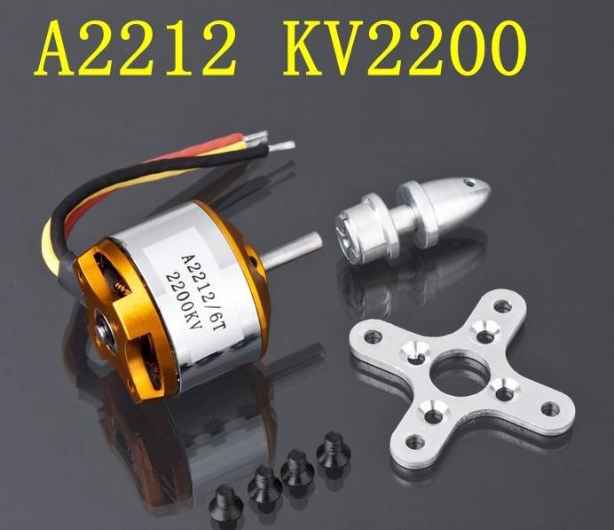 1 st A2212 borstlös motor 930KV 1000KV 1400KV 2200KV 2700KV för - Radiostyrda leksaker - Foto 5