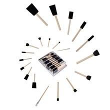 Schiuma Pennello Set Conda 50 pz/set FAI DA TE Graffiti Spugna Rifornimenti di Arte Pennelli di Tenuta Strumenti di Pittura Divertente Giocattolo Creativo per Divertente tavolo da disegno