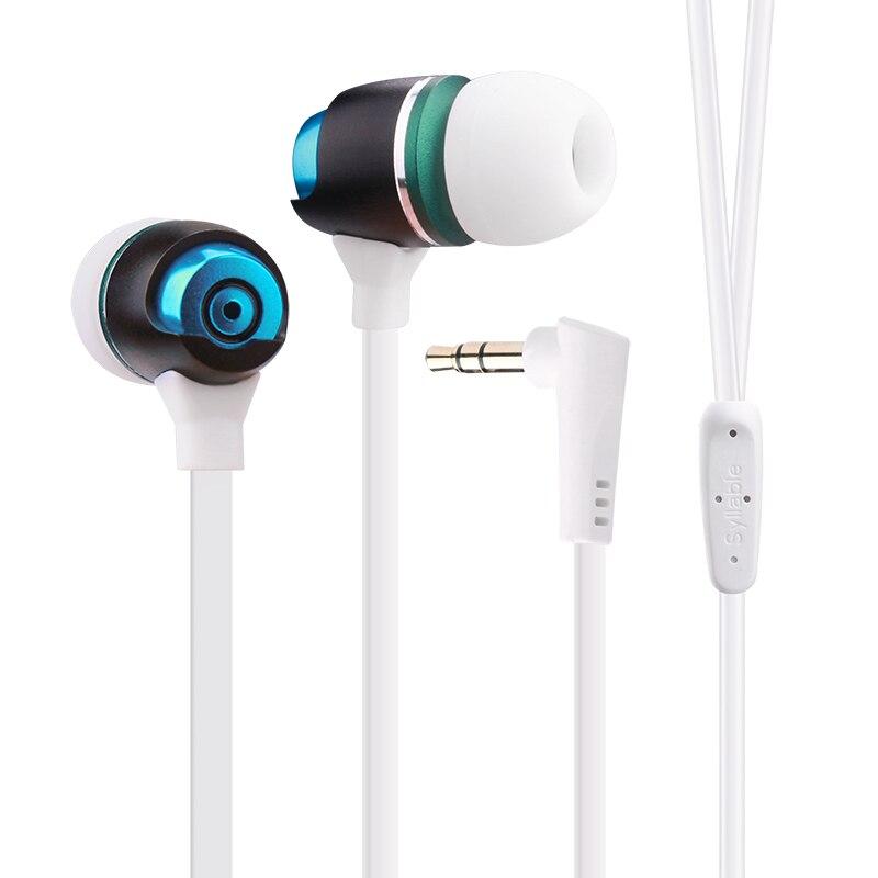 SYLLABE G02S 3.5mm Jack Écouteur Casque pour Mobile Téléphone fone de ouvido Casque Filaire sans Microphone