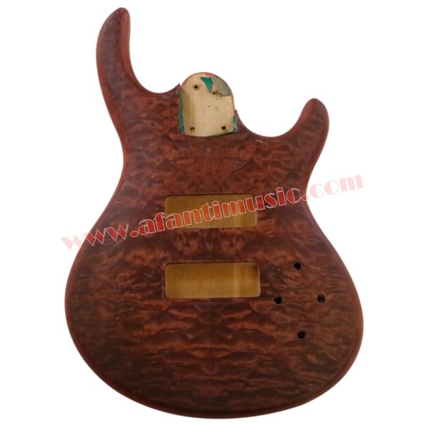 Afanti Music DIY Bass DIY Electric Bass guitar Body (ADK-158) afanti music prs diy guitar kit prs style electric guitar apr 727