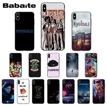Babaite Riverdale TV shows Luxury Unique Phone Cover for iPhone 8 7 6 6S Plus X Xs Xr XsMax 5 5S SE 5C Cover11 11pro 11promax(China)