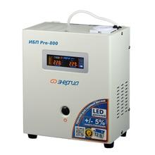 Устройство бесперебойного питания Энергия Pro-800 (Экономичный холостой ход, цветной LED дисплей)