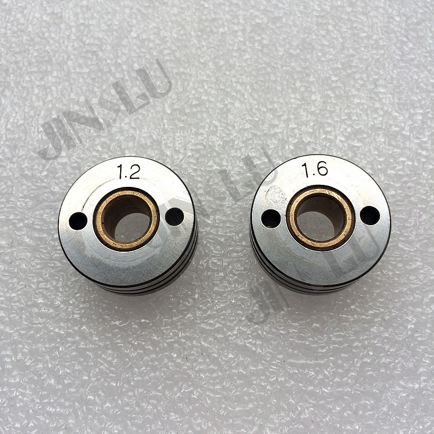 1.2 1.6mm V Groove Roller 2 PCS for 76ZY 02AV Mig Wire Feeder Motor ...