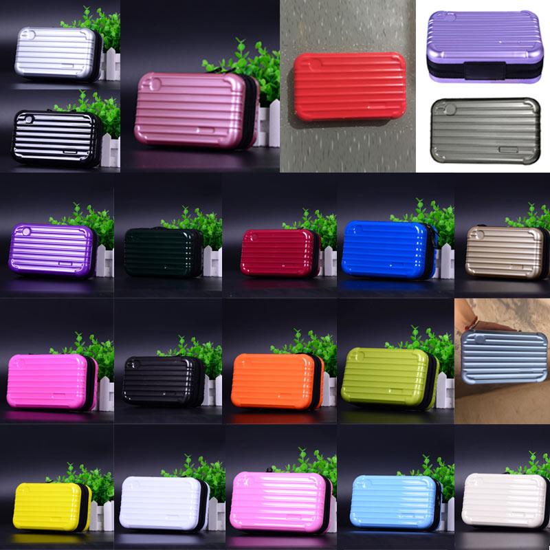 Luggage Design Travel Cosmetic Bags Makeup Organizer Case Brushes Lipstick Toiletry Storage Box SSA-19ING