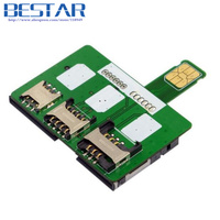 SIM Activation Tools Card Converter to Smartcard IC Card Extension for Standard Micro SIM Card and Nano SIM Card Adapter Kit