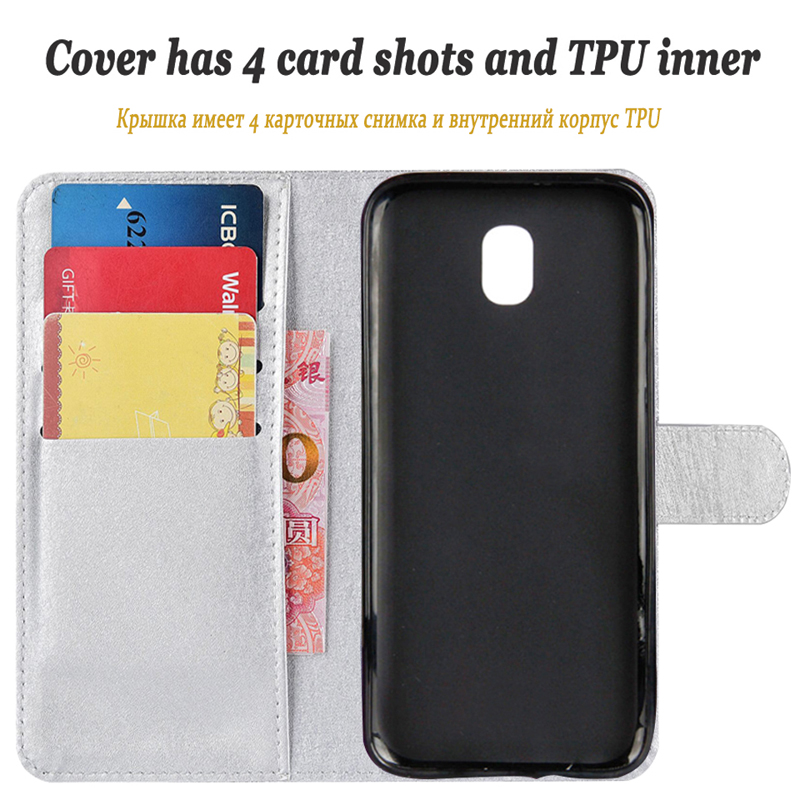 1Leather Soft Silicone Pretty Case For Samsung Galaxy J5 J500 J510 J5 2015 2016 2017 Flip Stander Wallet Phone Cover in Wallet Cases from Cellphones Telecommunications
