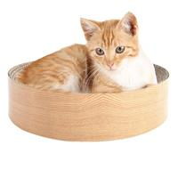 2018 High Quality Pet Supplies Cat Dog Toys Large sized Round Nest Bed Cat Scratching Playing Toy for dropshipping