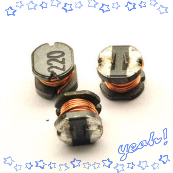 25pcs/lot M56B CD43 22UH SMD Power Inductor 220 Electronic Components Sell At A Loss USA Belarus Ukraine