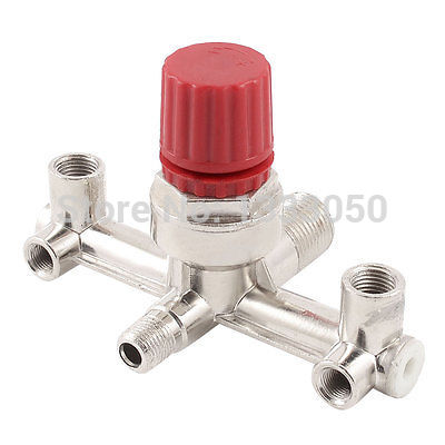 Free Shipping 12.5mm Female Thread Pressure Regulating Valve Fitting for Air Compressor m m 13mm to 9mm male thread air compressor inline manual valve